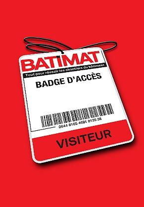 Badge Batimat 2017