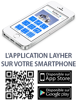 Application Layher pour Smartphone