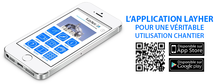 Application Layher sur Smartphone