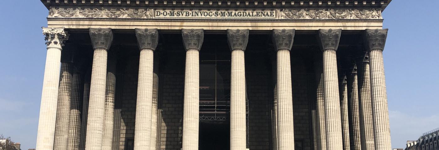 Restauration de l'église de la Madeleine