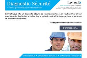 DIAGNOSTIC SÉCURITÉ EN LIGNE