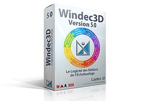 Windec3D devient le 1er logiciel dédié aux métiers de l'échafaudage