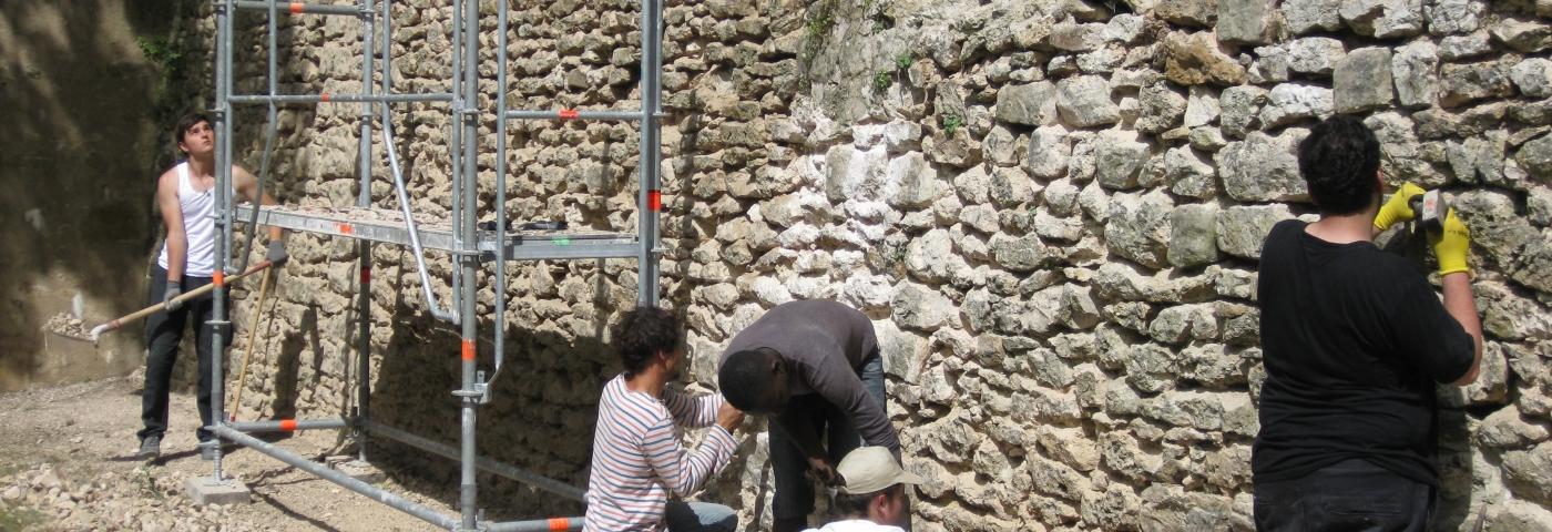 Layher soutient les bénévoles dans la restauration du patrimoine français