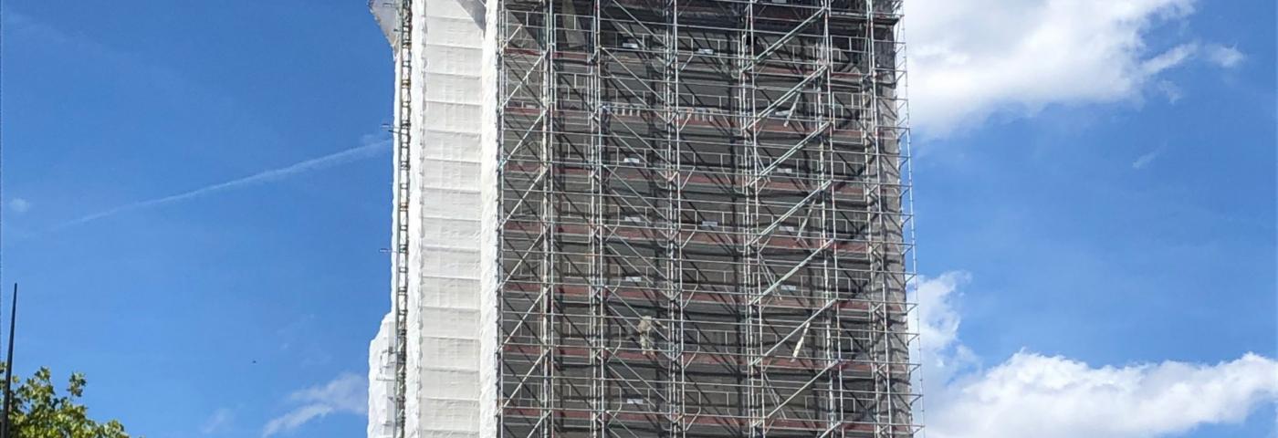 Nouveau clocher pour l'Eglise de Montrouge