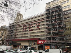 Travaux au Grand Rex Paris